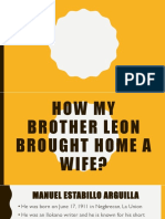 2 How My Brother Leon Brought Home a Wife