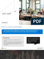 Azure Migration Customer Pitch Deck 120718 v2.1
