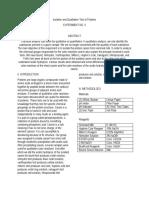 Laboratory Report Exp. 3