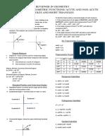 Trigonometry Reviewer 1st Quarter