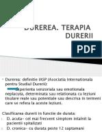 TERAPIA  DURERII aug.2018.pptx