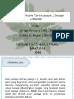 Presentasi Kapita Selekta Fix 2