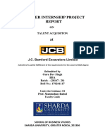 Summer Internship Project Report-JCB