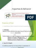 Fluid Properties