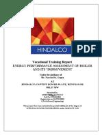 Hindalco Boiler Efficiency