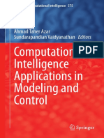 2015 Computational Intelligence Applications in Modeling and Control