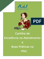 CARTILHA DE EXCELÊNCIA NO ATENDIMENTO PGU
