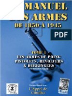Manuel Des Armes de Poing - Cthulhu