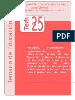 tema 25 educacion primaria