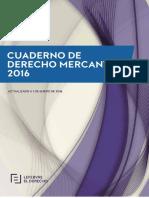 Cuaderno de Derecho Mercantil 2016
