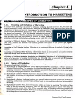 (Nature's scope and importance ) Marketing vs selling in points.pdf