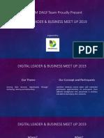 Meet the Digital Leader & Business Meet Up 2019