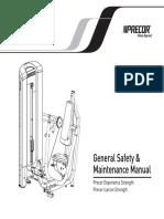 General Safety & Maintenance Manual