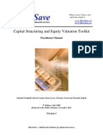 Capital Structure Toolkit