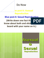 Asexual and Sexual Reproductionn
