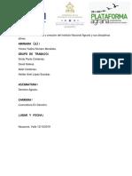 Historia y Creacion Del Instituto Nacional Agrario
