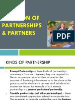 Partnership Estates and Trusts