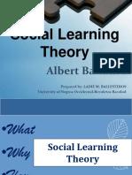 Albert Bandura Social Learing