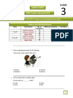 CEO Sample Papers for Class 3