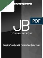 Adapting Your Script Training Your Sales Team