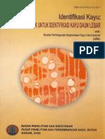 IAWA 2008 - Identifikasi Kayu_Ciri Mikroskopik untuk Identifikasi Kayu Daun Lebar