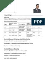 Vikrant Sehgal Resume (2)