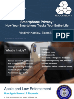 How Your Smartphone Tracks Your Entire Life