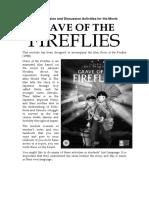 Grave of the Fireflies Nov 10