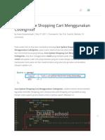 Cara Update Shopping Cart Menggunakan Codeigniter - Kursus Website Terbaik.pdf