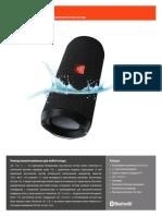 JBL Flip 4 Spec Sheet Russian