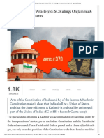 Judicial History of Article 370_ SC Rulings On Jammu & Kashmir Special Status.pdf