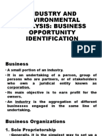 INDUSTRY AND ENVIRONMENTAL ANALYSIS.pptx
