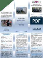 folleto de cultura civica