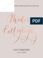Modern Calligraphy A Step-by-Step Guide to Mastering the Art of Creativity by Lucy Edmonds.epub