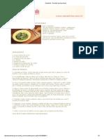 Arroz de Brócolis Com Alho Dourado