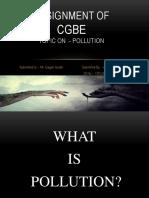 PPT on POLLUTION by Aditya Choudhry iD No. 17FLICDDN01011.pptx