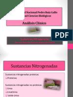 sustancias nitrogenadas