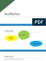 clase audífonos