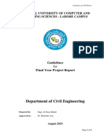 FYP report Guidelines