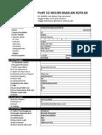 Profil Pendidikan Sd Negeri Babelan Ko (13!10!2019 21-43-14)