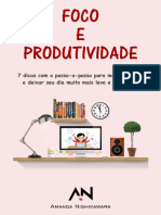 Foco e produtividade