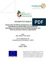 Chinchipe Explotacion Plantas Medic in Ales