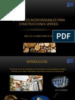 Materiales Para Construcciones Verdes Luz2019