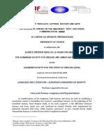 CFP Language and Literature 2019 en FINAL