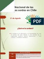 Día Nacional de Las Personas Sordas en Chile
