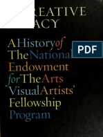 A Creative Legacy/ A History of the National Endowment for the Arts Visual Artists' Fellowship Program