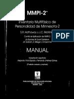 Manual MMPI 2