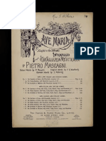 Ave Maria Mascagni Sheet Music