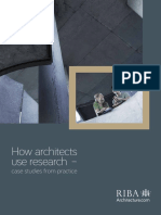 How Architects Use Research 2014 PDF