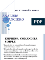 Analisis Financiero Duarte Perez y Compañia